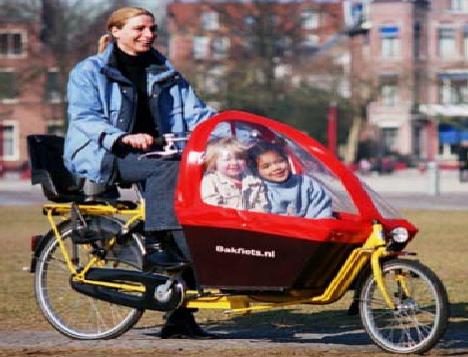 Bakfiets Cargobike Short