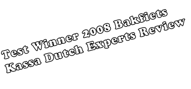 Test Winner 2008 Bakfiets  Kassa Dutch Experts Review